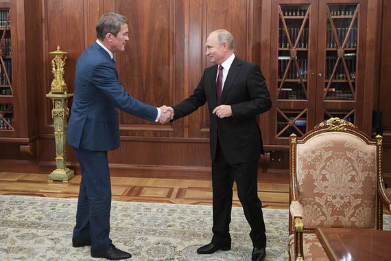 Путин назначил врио глав Курской области и Башкирии