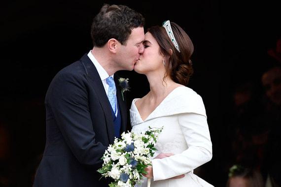 Внучка британской королевы принцесса Евгения вышла замуж
