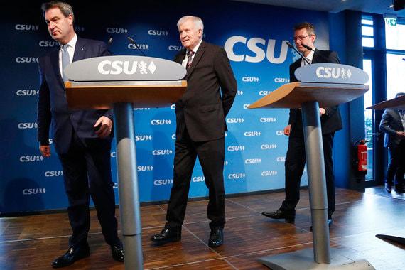 Союзники канцлера Меркель провалили земельные выборы в Баварии