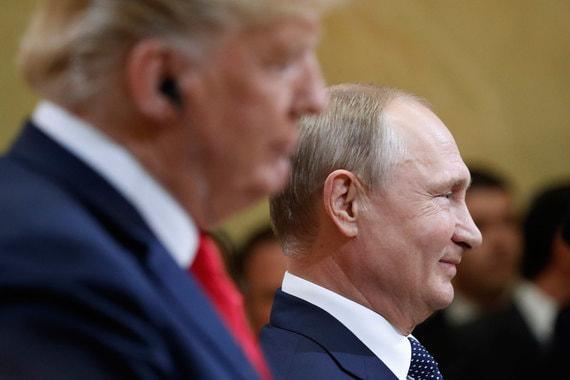 Кремль ответил на заявление Трампа о возможной причастности Путина к «отравлениям»