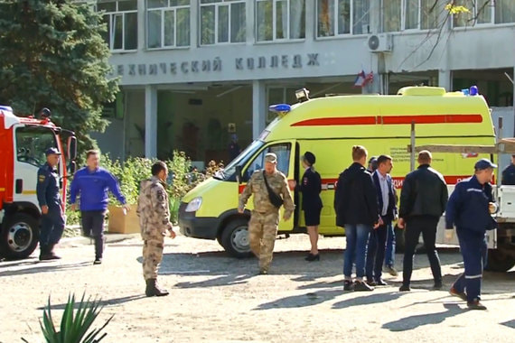 НАК заявил о подрыве взрывного устройства в колледже в Керчи
