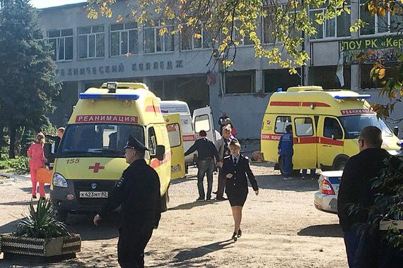 Взрыв в колледже в Керчи признали терактом