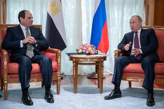 Путин изменил программу переговоров с президентом Египта после трагедии в Керчи