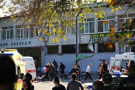 Взрыв и стрельбу в Керчи переквалифицировали из теракта в убийство