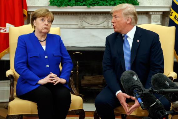 Меркель изменила отношение к импорту газа из США