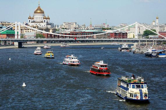 В Москве стартовал сезон речных перевозок