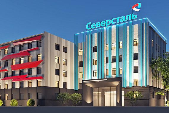«Северсталь» потратит полмиллиарда на новые фасады завода в Череповце