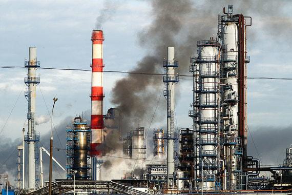 На Московском нефтеперерабатывающем заводе произошел пожар