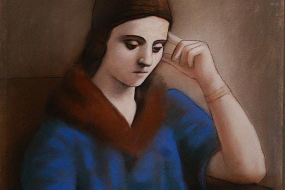 normal 1m2z В Пушкинском музее открылась выставка «Пикассо & Хохлова»