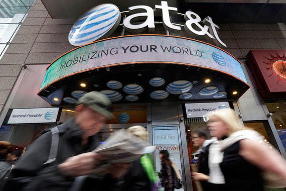 Крупнейшая телекоммуникационная компания США занимает и 1-е место в стране по инвестициям в развитие: они составили у AT&T $22 млрд