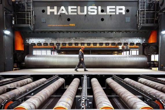 «Газпром» заключил крупнейший контракт на закупку труб