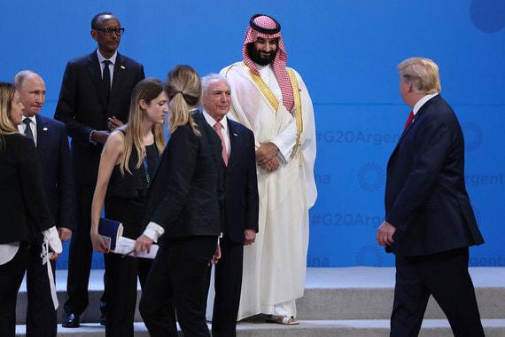 Президент России Владимир Путин и президент США Дональд Трамп встретились на фотографировании лидеров G20. Саммит начался сегодня в Буэнос-Айресе