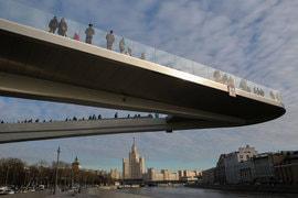Полет над Москвой