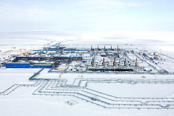 normal 1aar «Газпром» вывел одно из крупнейших своих месторождений на полную мощность