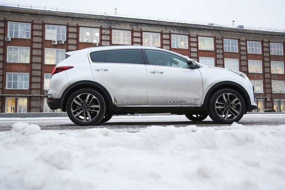 Kia Sportage Premium: Нарушитель границ