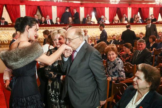 normal 1m12 Кто пришел на новогодний прием к Путину в Большой театр