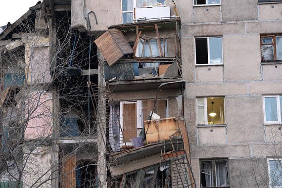 normal vfn В Магнитогорске из за взрыва газа обрушился подъезд многоэтажки