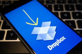 Ожидания инвесторов относительно перспектив бизнеса Dropbox сегодня скромнее, чем несколько лет назад