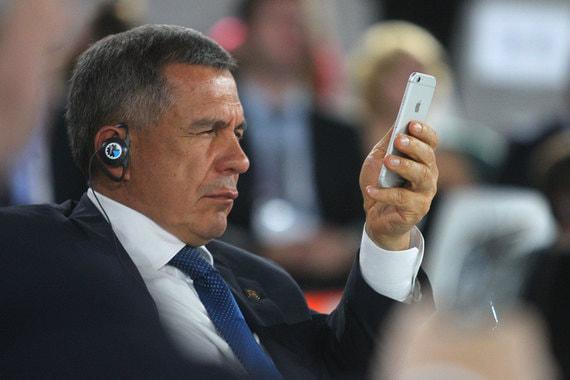 Президент Татарстана Рустам Минниханов на четвертом месте рейтинга, более 118 000 раз упоминался в публикациях в 2017 г.