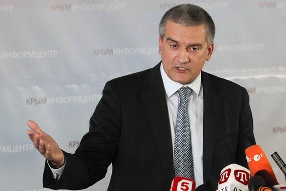 Глава Крыма Сергей Аксенов на пятом месте рейтинга, более 125 000 раз упоминался в 2017 г. в публикациях
