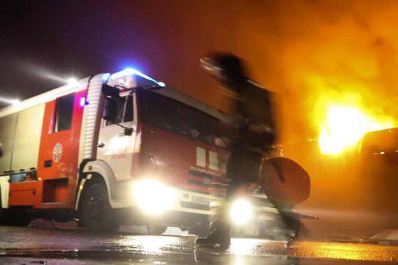 В Саратовской области загорелась нефть после прорыва нефтепровода