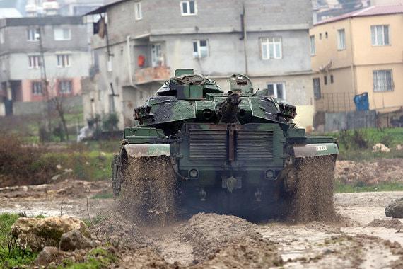 Турция обсуждает с Россией операцию против сирийских курдов