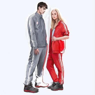 Oфициальный экипировщик Олимпийской команды России компания Zasport представила несколько эскизов «нейтральной» формы для выступления российских спортсменов на Олимпийских играх в Пхенчхане