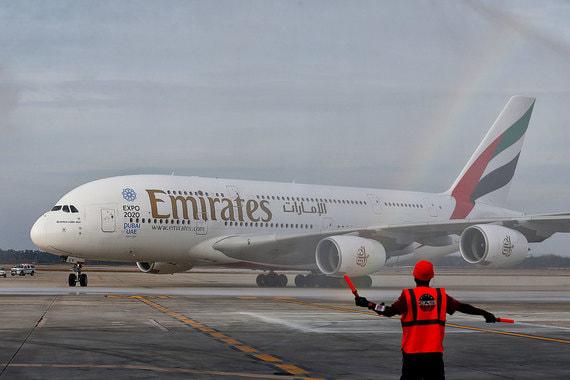 Emirates сделала крупный заказ на A380