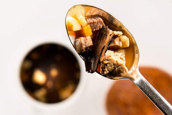 Трюфельный суп V. G. E - самое знаменитое блюда Бокюза