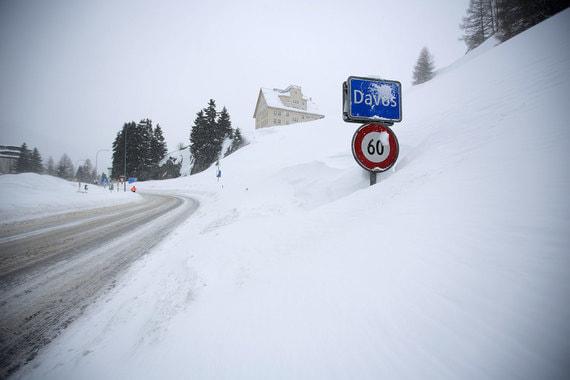 Из-за большого количества снега добираться до конгресс-центра придется дольше, чем в предыдущие годы
