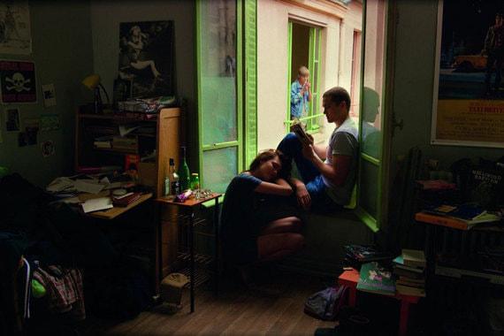 «Любовь»  Гаспара Ноэ - это эротическая  мелодрама и история любви, снятая в формате 3D. Она была показана в  специальной внеконкурсной программе на Каннском кинофестивале, где  номинировалась на квир-пальмовую ветвь за освещение ЛГБТ-темы в кино. По  отзывам, фильм шокировал многих зрителей откровенными сценами