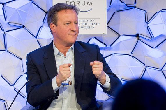 Бывший премьер-министр Великобритании Дэвид Кэмерон