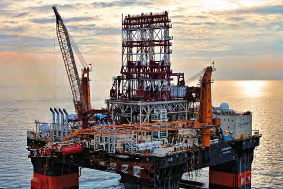 Для бурения скважины на черноморском шельфе у Saipem зафрахтована платформа Scarabeo-9