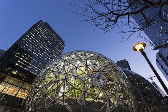 normal 1lc2 Amazon создал тропический лес посреди Сиэтла
