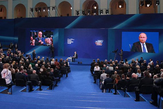 Президент считает, что его доверенные лица разъяснят его предвыборную программу народу лучше, чем сам Владимир Путин