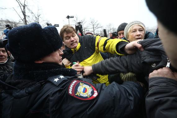 «Открытая Россия» сообщила, что в Москве задержаны три человека