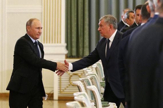 Сечин тревожится, что доля российской нефти на мировом рынке падает