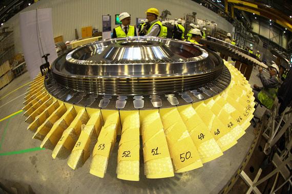 Минэнерго хочет стимулировать производство и продажи новых турбин для электростанций
