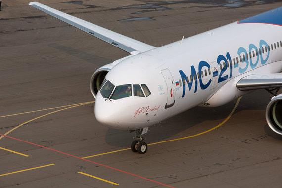 Выпуск самолетов МС-21 задерживается минимум на год из-за санкций