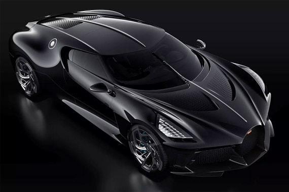 Bugatti представила самый дорогой в мире автомобиль