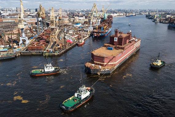 normal 1bxf Россия изучает возможность строительства плавучих электростанций мощностью более 250 МВт