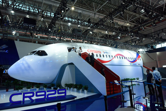 normal 1qlc Создание российско китайского самолета оказалось под угрозой