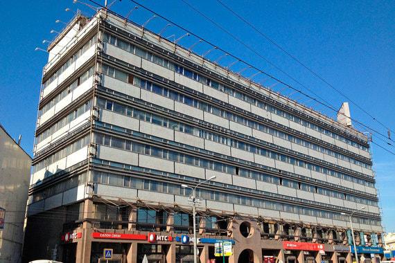 АФК «Система» перестроит здание Дома связи на Новом Арбате