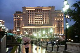 Гостиничный комплекс «Москва» в Охотном Ряду