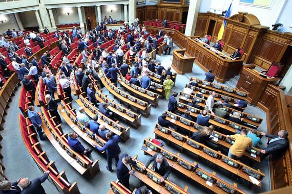 Парламент Украины отказался рассматривать первую инициативу нового президента
