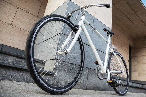 normal 155r Volkswagen Singlespeed Fahrrad: баухаус, и только