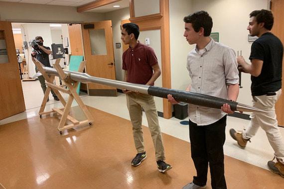normal 18iz Американские студенты запустили в космос собственную ракету