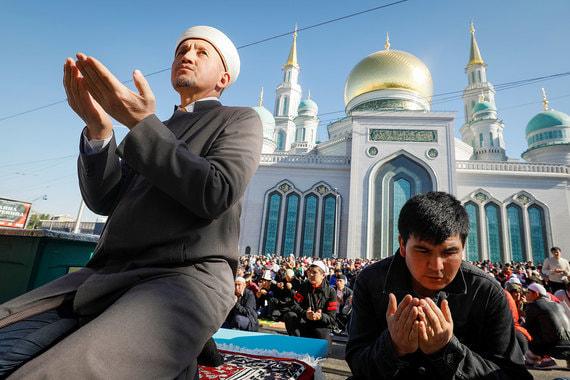 normal wah Как в Москве мусульмане отмечают окончание Рамадана