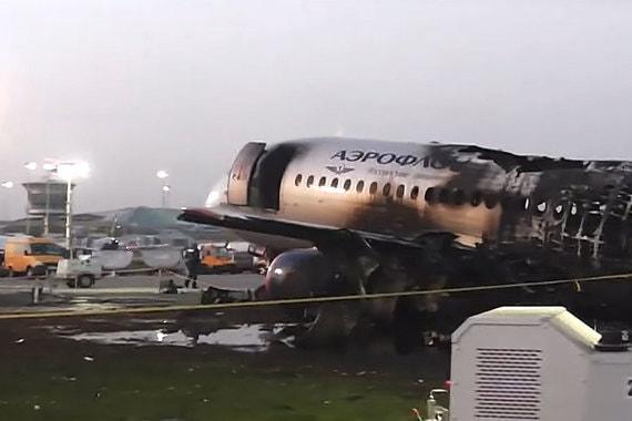 normal 1ph7 МАК рассказал об ошибках пилотов сгоревшего SSJ100