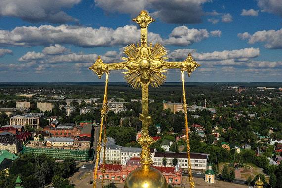 Сергиев Посад обезображен советским наследием, считают в РПЦ, но сейчас пришло время это изменить